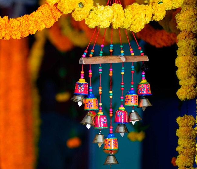 Elementos de decoración Tibetanos